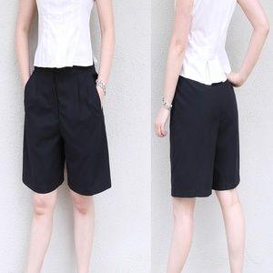 Liz Claiborne Black Golf Shorts